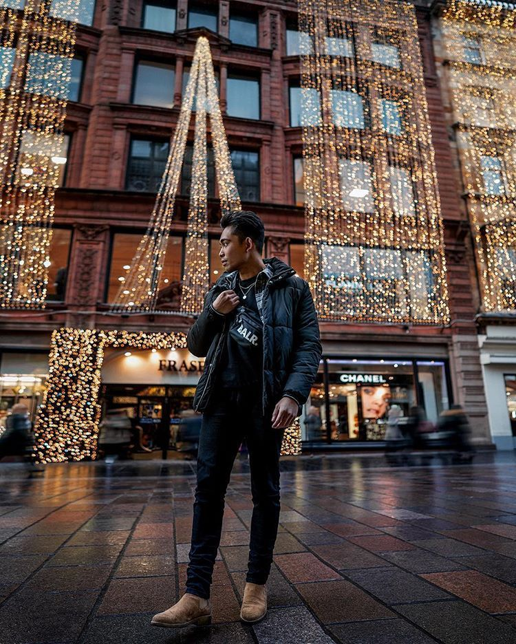 Festive vibes in Glasgow🌟 Have a great Sunday 🏽#