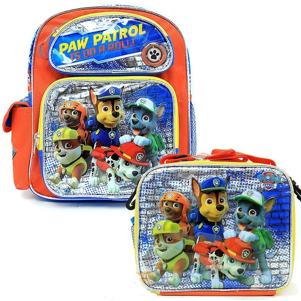 """Paw Patrol Large Backpack 16/"""" inches BRAND NEW Licensed Product"""