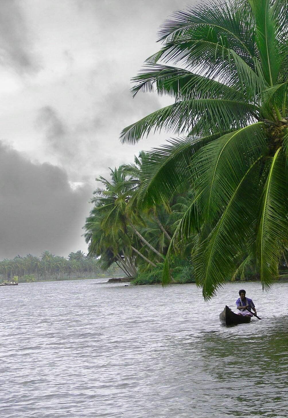 Kerala India Good Morning Nature Village Photography Nature Water