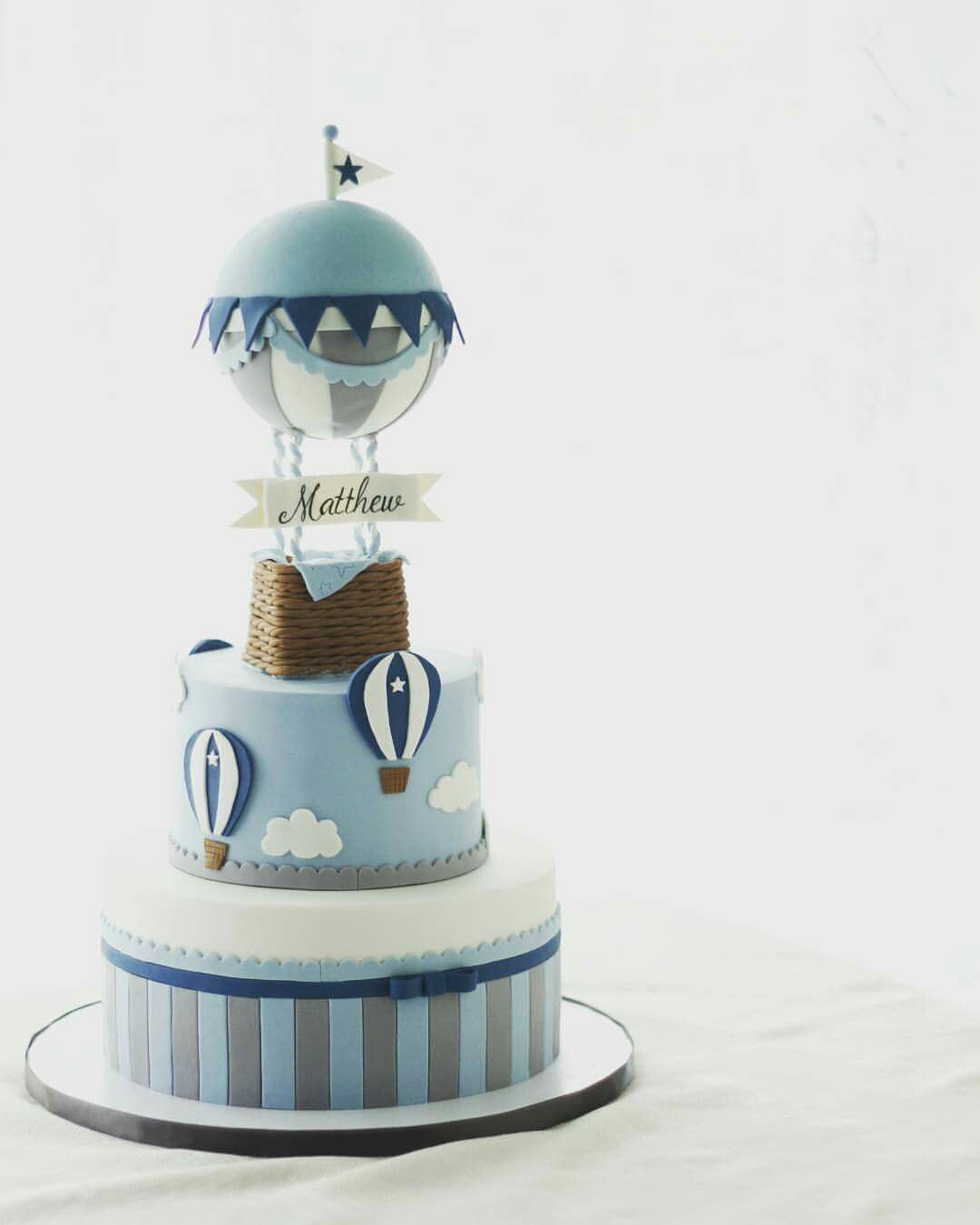 Hot Air Balloon Cake With Images Hot Air Balloon Cake Hot Air
