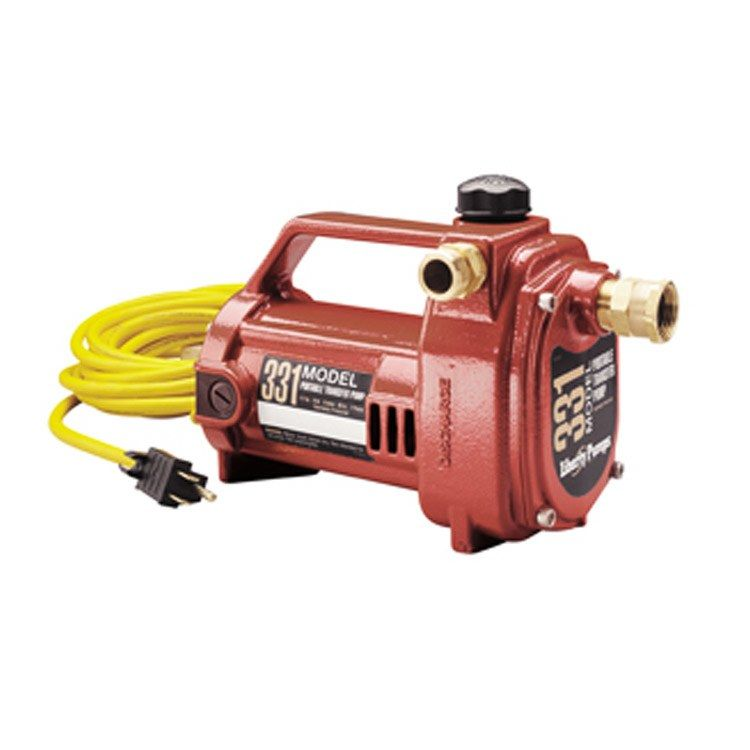 1 2 Hp Portable Transfer Utility Pump Plumbing Pumps Pumps Centrifugal Pump