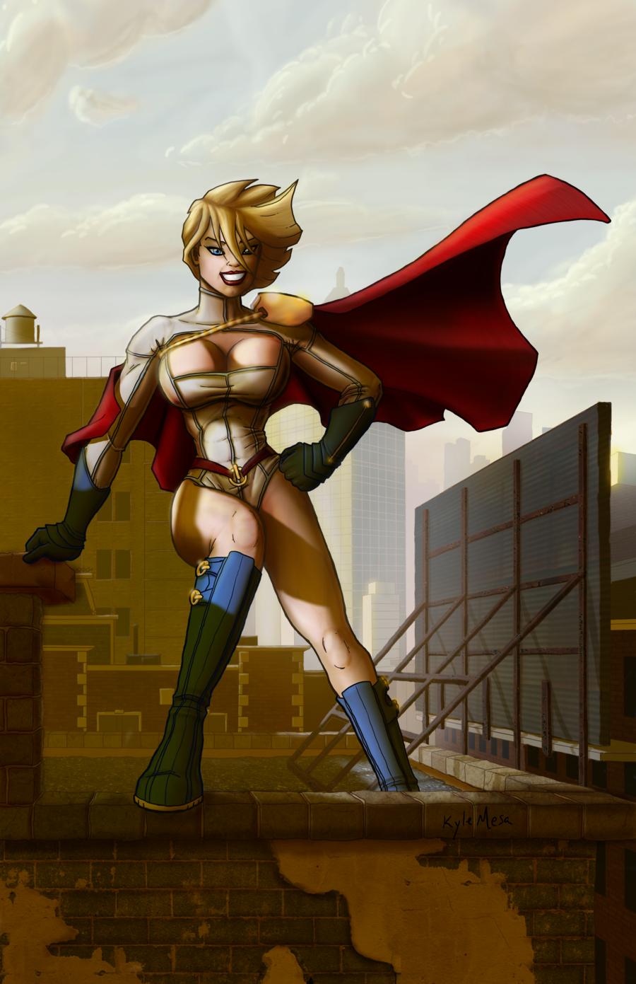 Power Girl 4k, HD Superheroes, 4k Wallpapers, Images