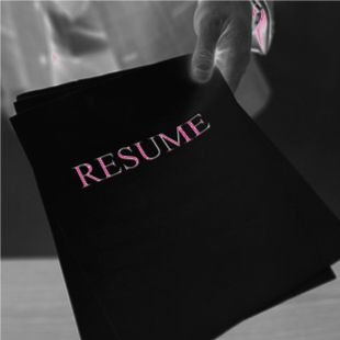 s a favorite of mine a video resume what better way to present yourself than
