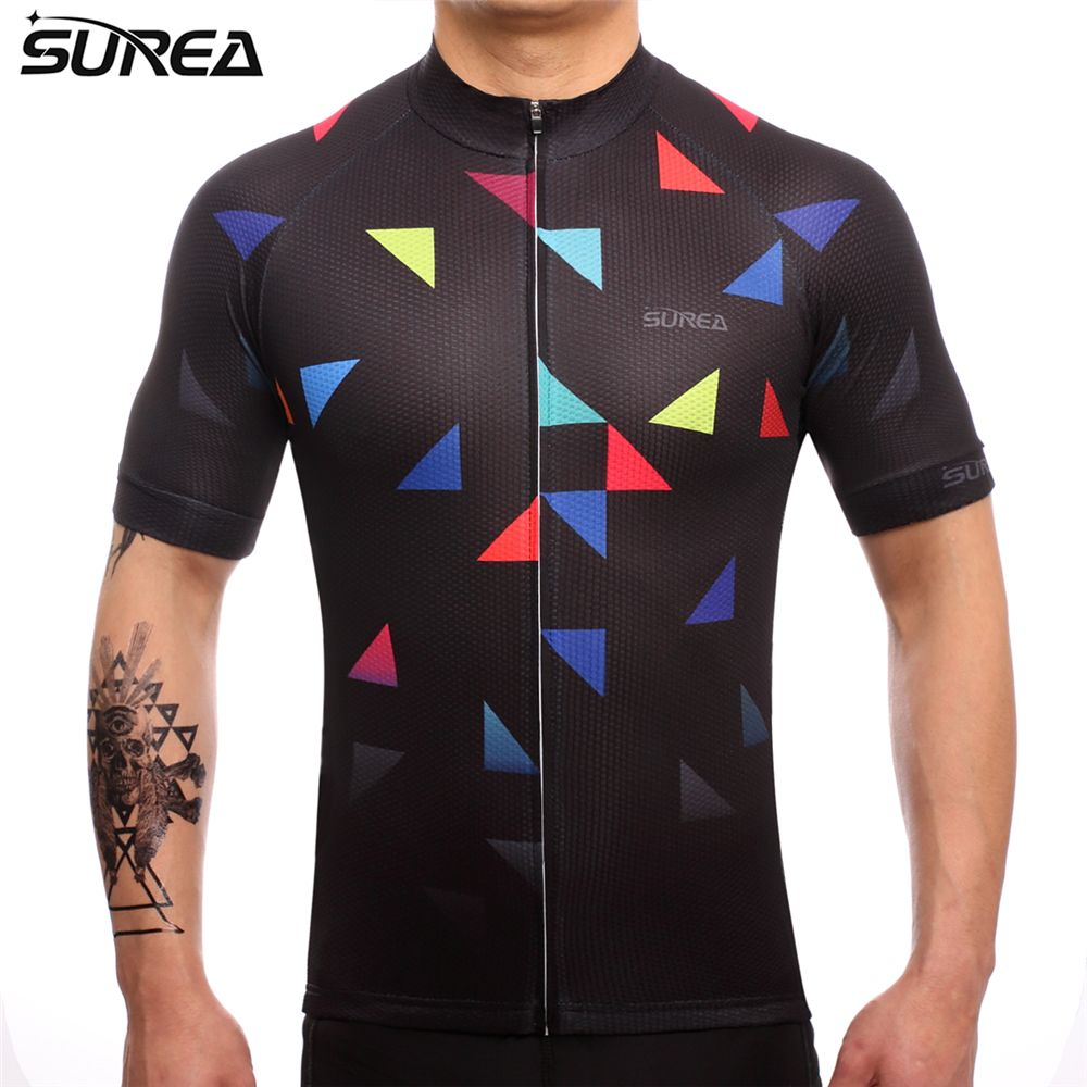 Surea 2017 Cycling Jersey Summer Bicycle Clothing Maillot Ropa