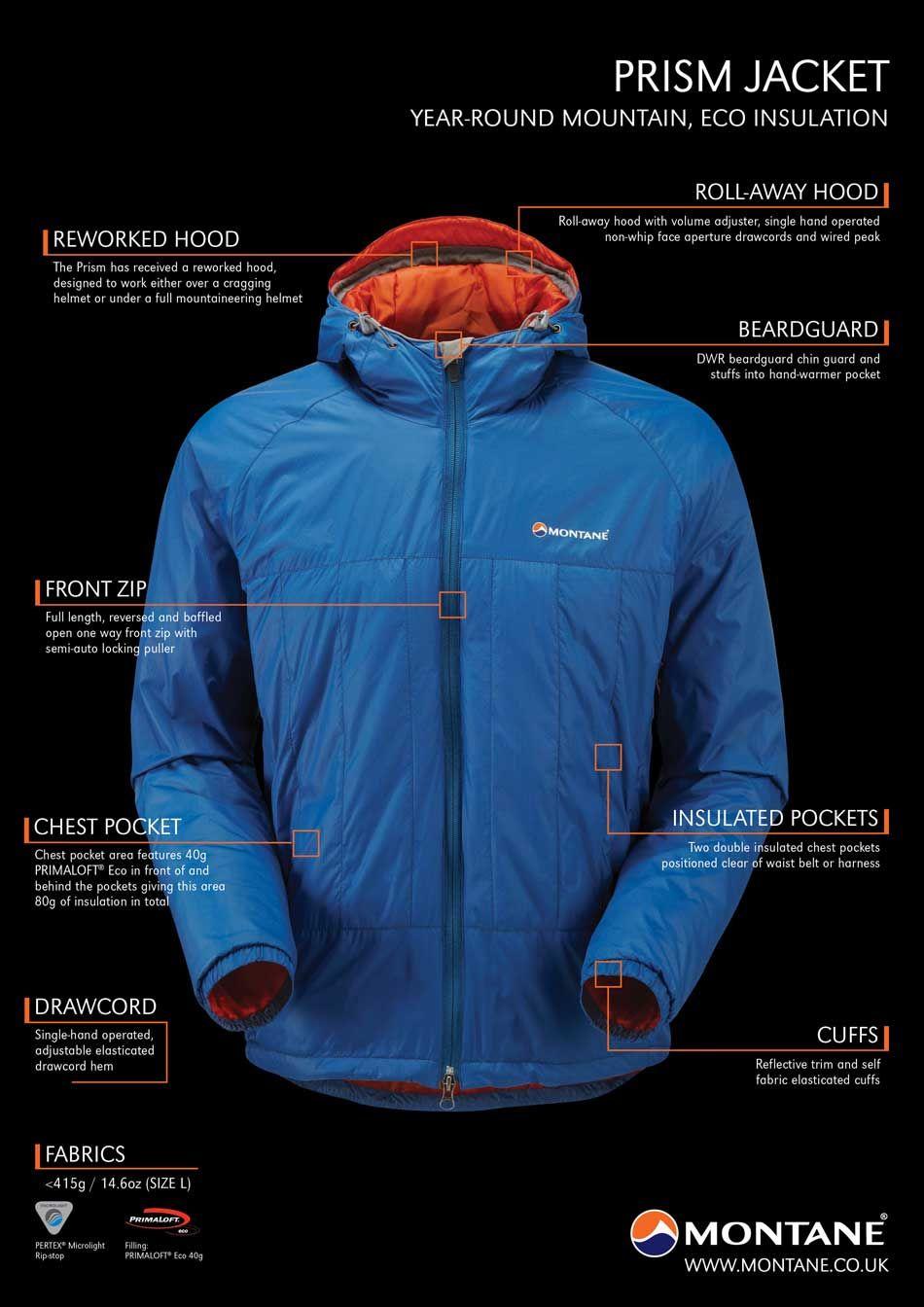 Montane Prism Jacket The most versatile piece of