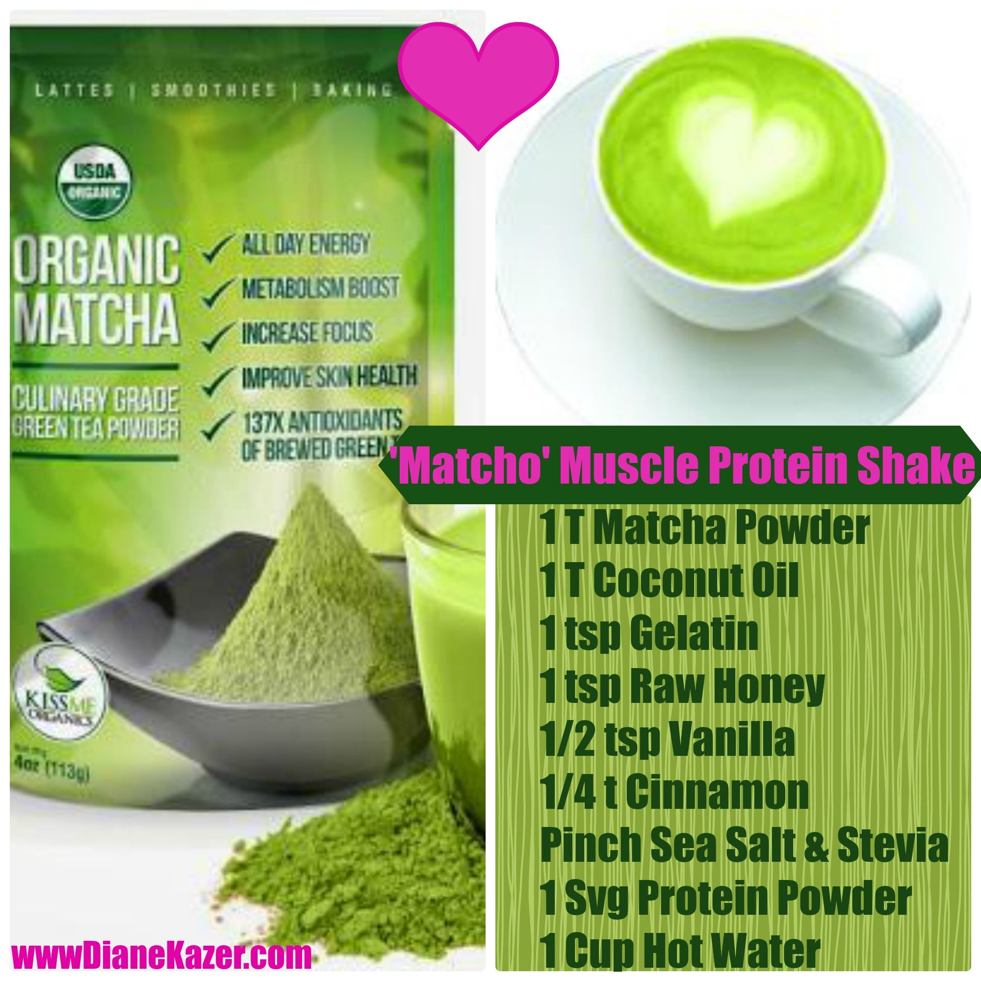 8 Reasons to Try MATCHA - Burn Fat, More Energy | Super Food ...
