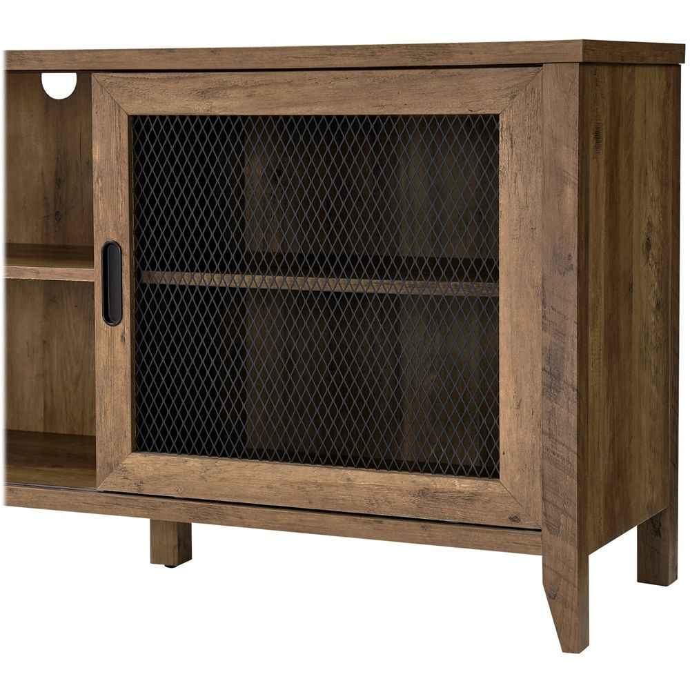 Walker Edison Industrial Tv Stand For Most Tvs Up To 78