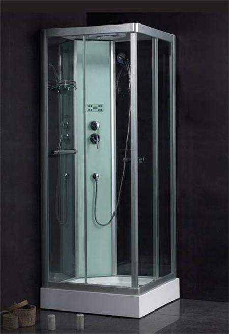 Shower enclosures small bathrooms modern high end shower enclosure design for small space - Small shower enclosures ...