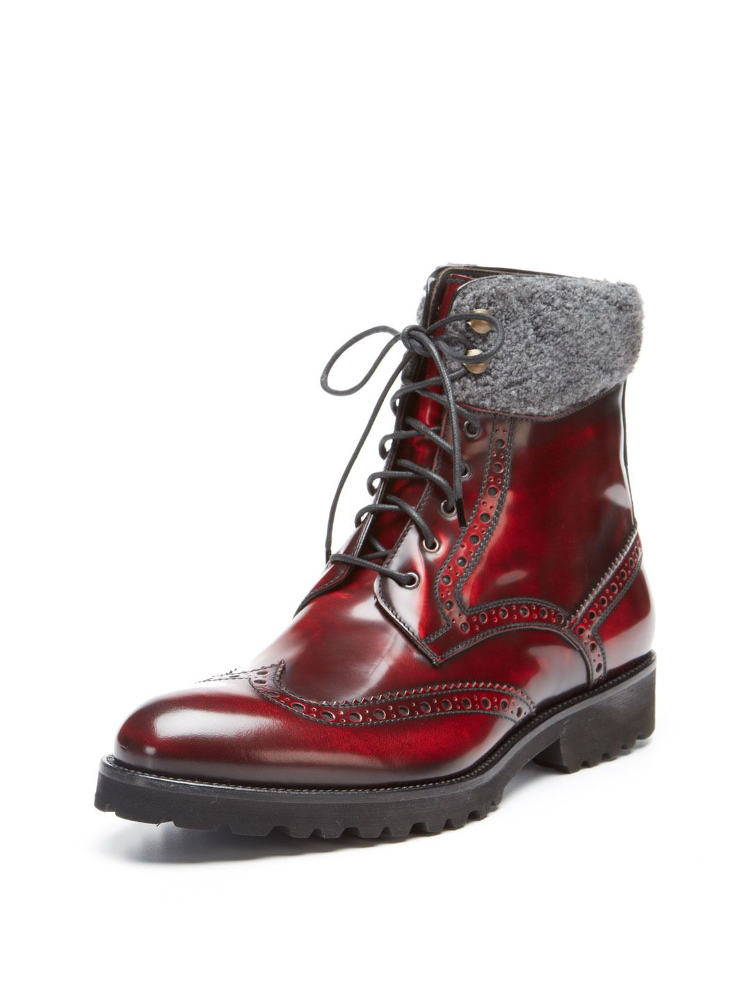 wingtip fall/ winter | GuyStyle | Shoe boots, Boots, Dress
