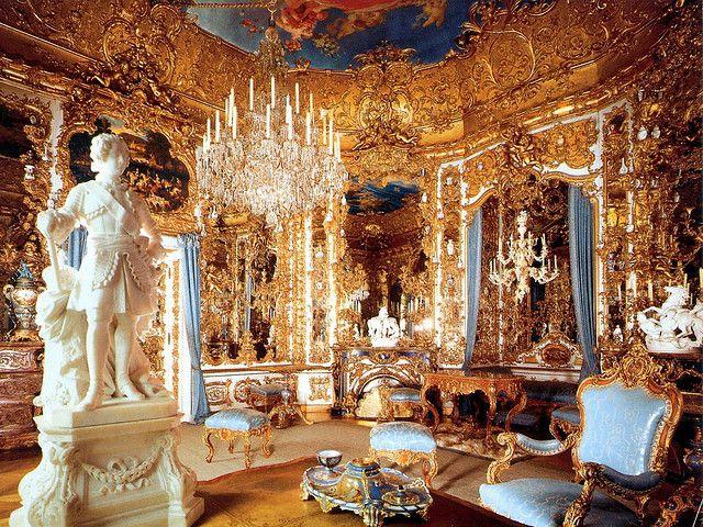 Inside Schloss Linderhof Castles Interior Linderhof Palace Neuschwanstein Castle