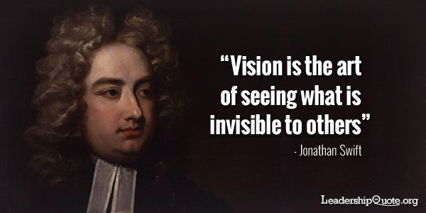The Art Of The Deal Quotes Unique Vision Is The Art Of Seeing What Is Invisible To Others