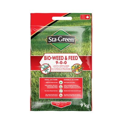 Sta Green Bio Weed And Feed Lawn Fertilizer 9 0