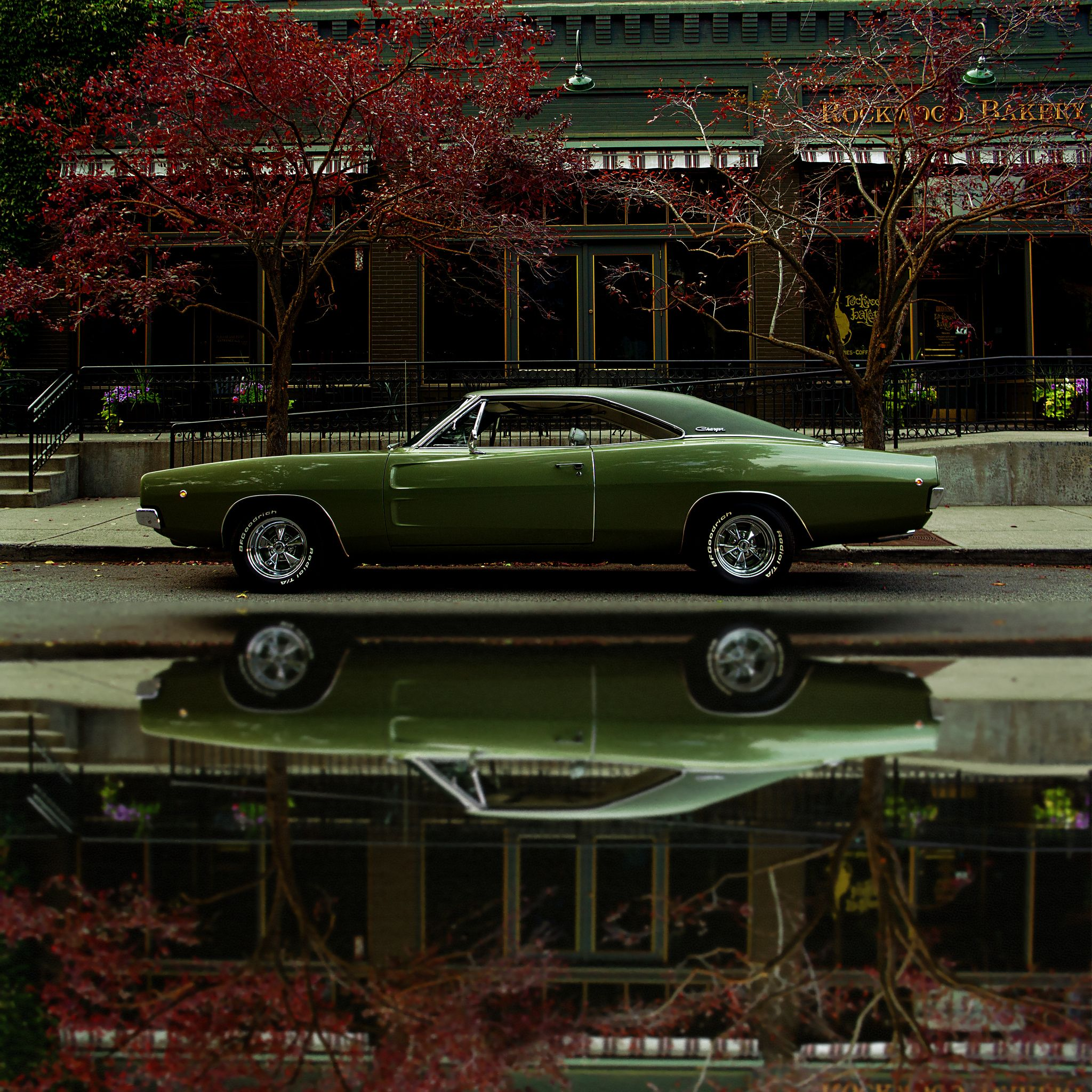 1968 Dodge Charger R/T - Rockwood Bakery (Full Reflection) | Dodge ...