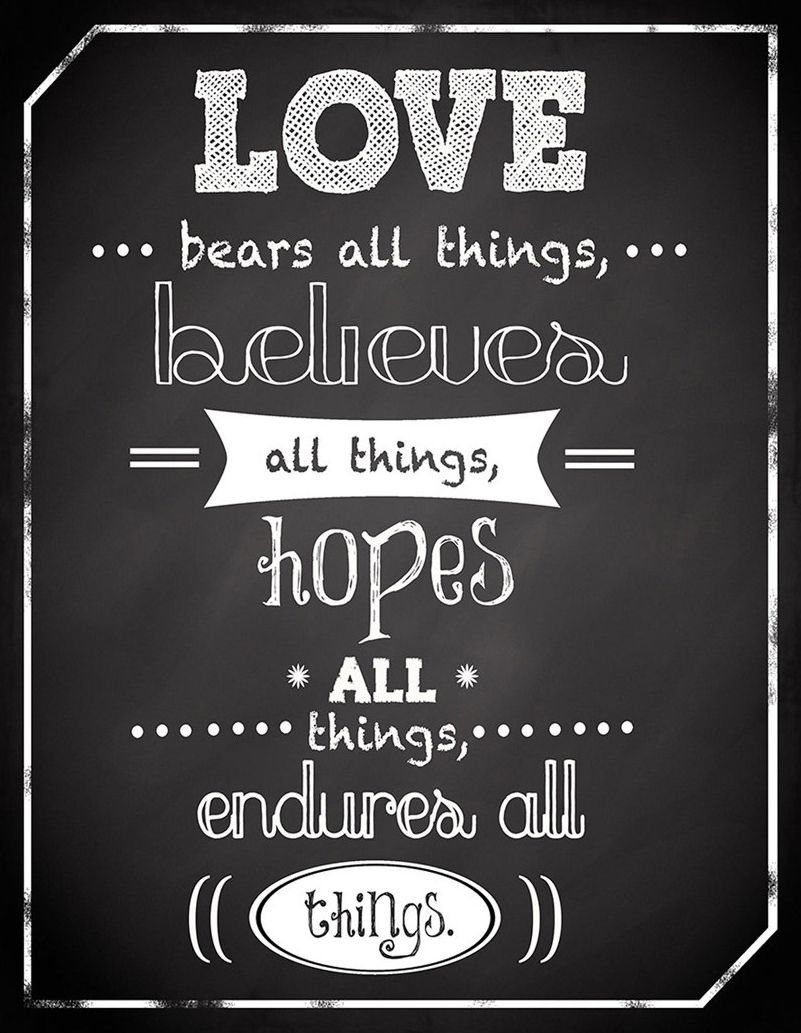 Love Plaques Quotes Love Bears All Things Chalkboard  Signs  Pinterest  Bears