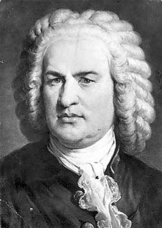 Juan Sebastián Bach. Compositor de música.