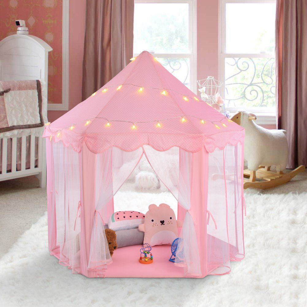 Princess Castle Kids Play Tent Ejoyous Baby Toddler Child Girls Large Indoor  And Outdoor Pink Play