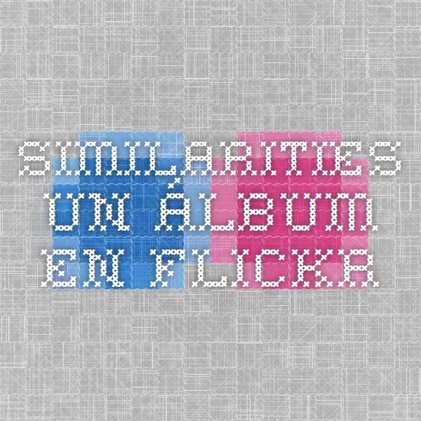 Similarities - un álbum en Flickr, un álbum con una enorme recopilación de inspiraciones y plagios en ilustraciones y diseño.