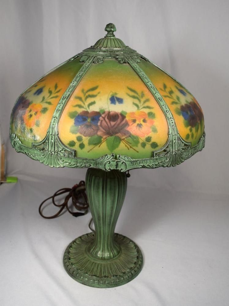 Lot 123 Ebay Glass Table Lamp Table Lamp Shades Lamp Shade