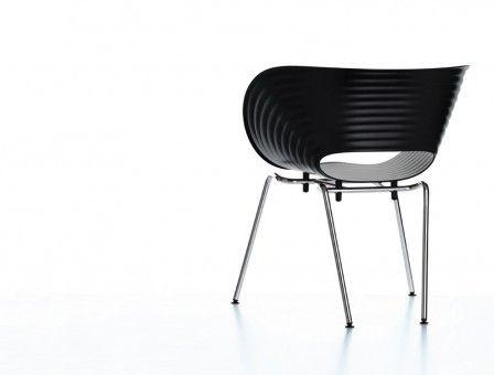 Tom Vac Dining Chair By Vitra Stuhle Stuhl Design Stuhle Stapelbar