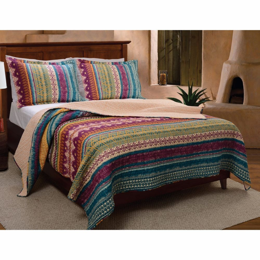 Beautiful chic blue teal purple green red moroccan bohemian global ... : red quilted bedspreads - Adamdwight.com