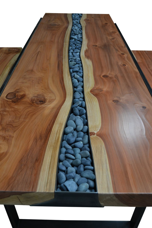 River Rock Redwood Dining Set | Diy furniture decor, Resin ...