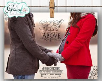 christmas card pregnancy announcement – Etsy | Maternity ...