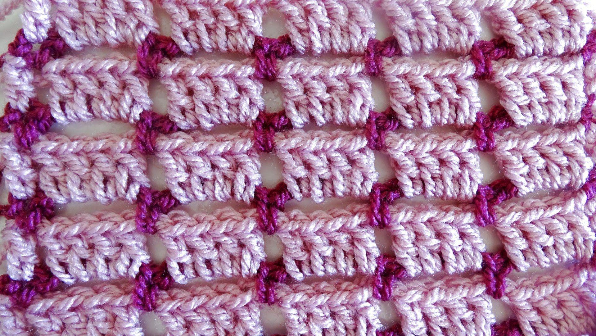 Crochet Block Stitch Crochet Tutorial Youtube Needle Art