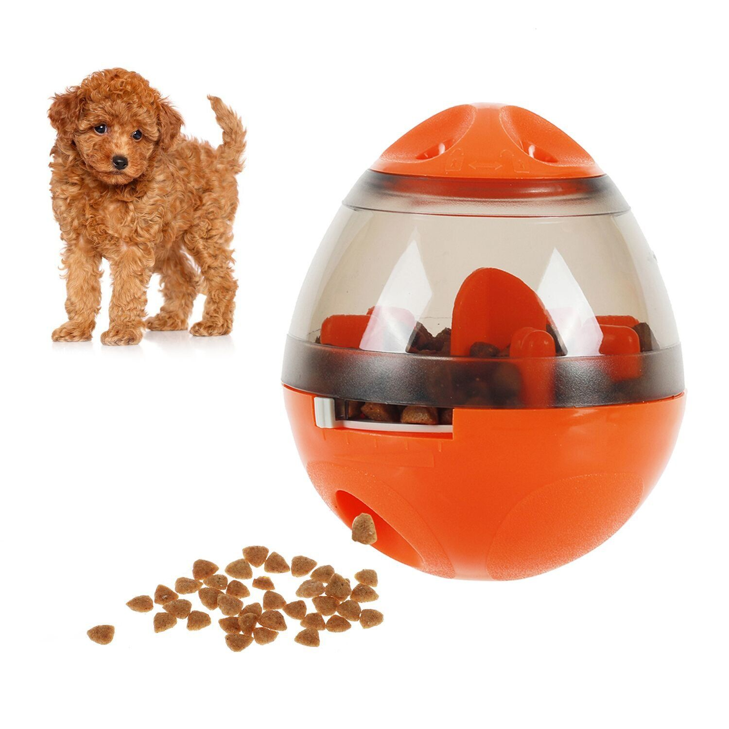 Smartelf Dog Food Toy Dispenser Interactive Dog Toy Ball For