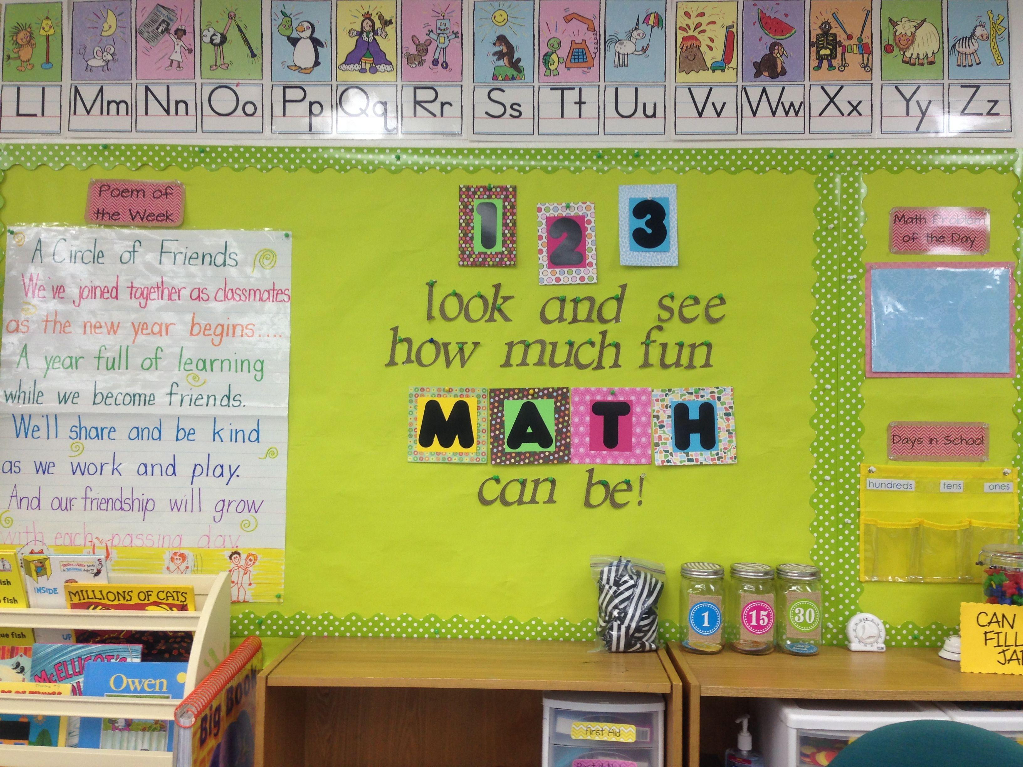 Kindergarten Classroom Decoration Pictures : Kindergarten classroom decor kinder pinterest