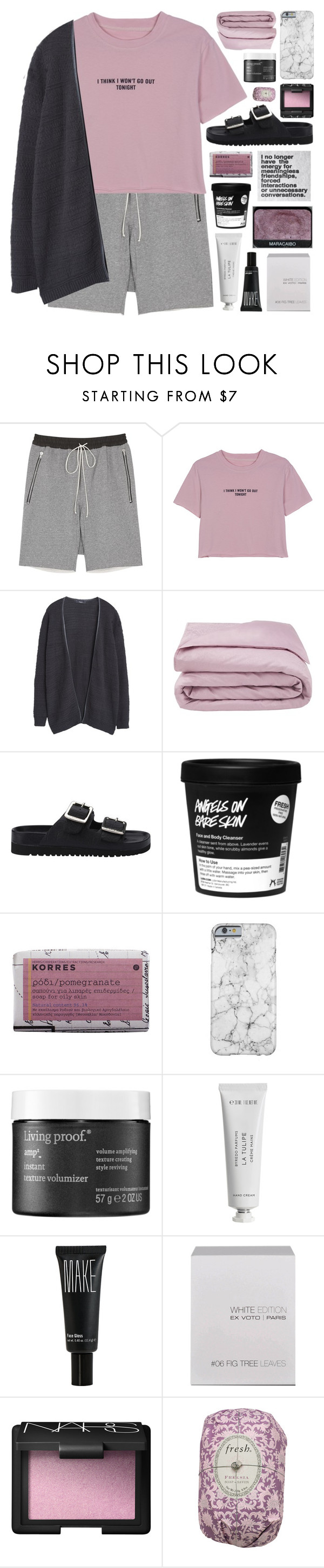"""""""WON'T GO OUT TONIGHT // top set 14.08.16"""" by emmas-fashion-diary ❤ liked on Polyvore featuring WithChic, MANGO, Frette, Senso, Korres, NARS Cosmetics, Living Proof, Byredo, Make and Ex Voto Paris"""