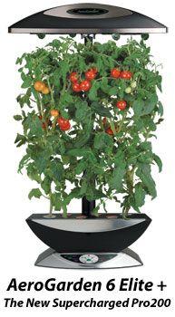 Aerogarden 6 Elite Small Space Gardening 400 x 300