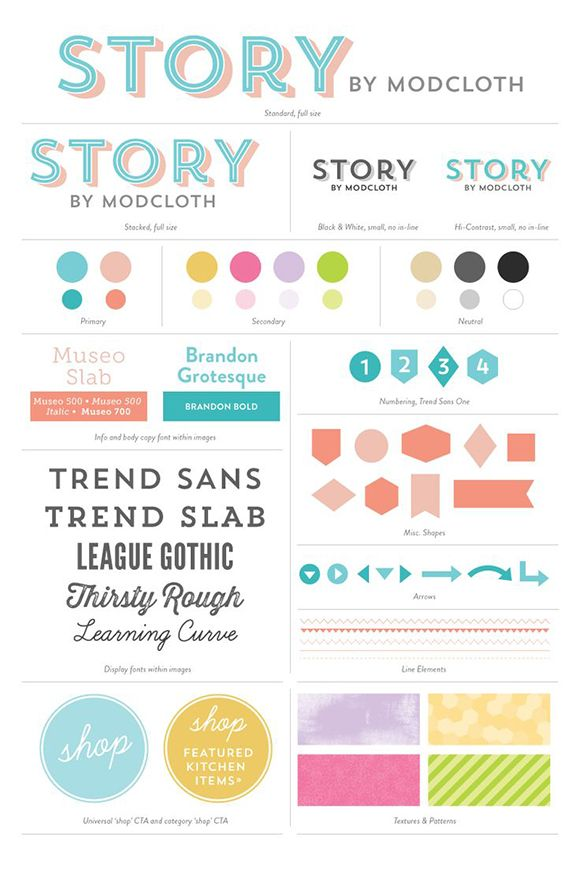 Designing a Killer Style & Brand Guide (Tips & Examples) Story by ...
