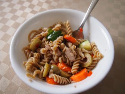 Dairy Free and Delicious: Tuna Pasta Salad - Dairy and Soy Free (vegan option)