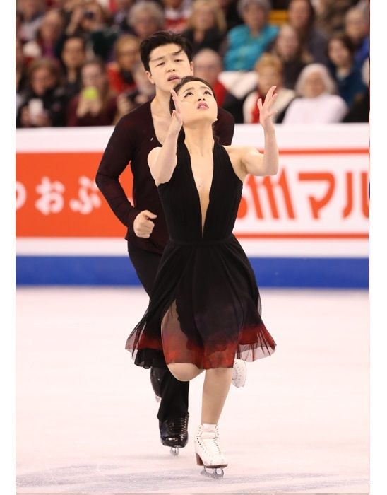 American ice dancers Maia & Alex Shibutani, 2016 World Silver Medal winners