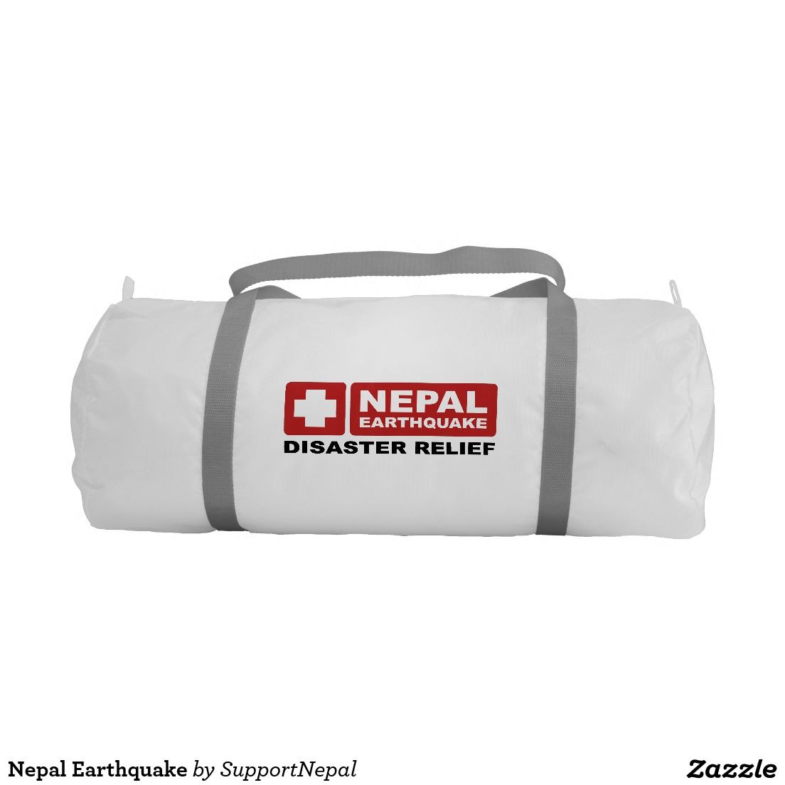 Nepal Earthquake Gym Duffel Bag