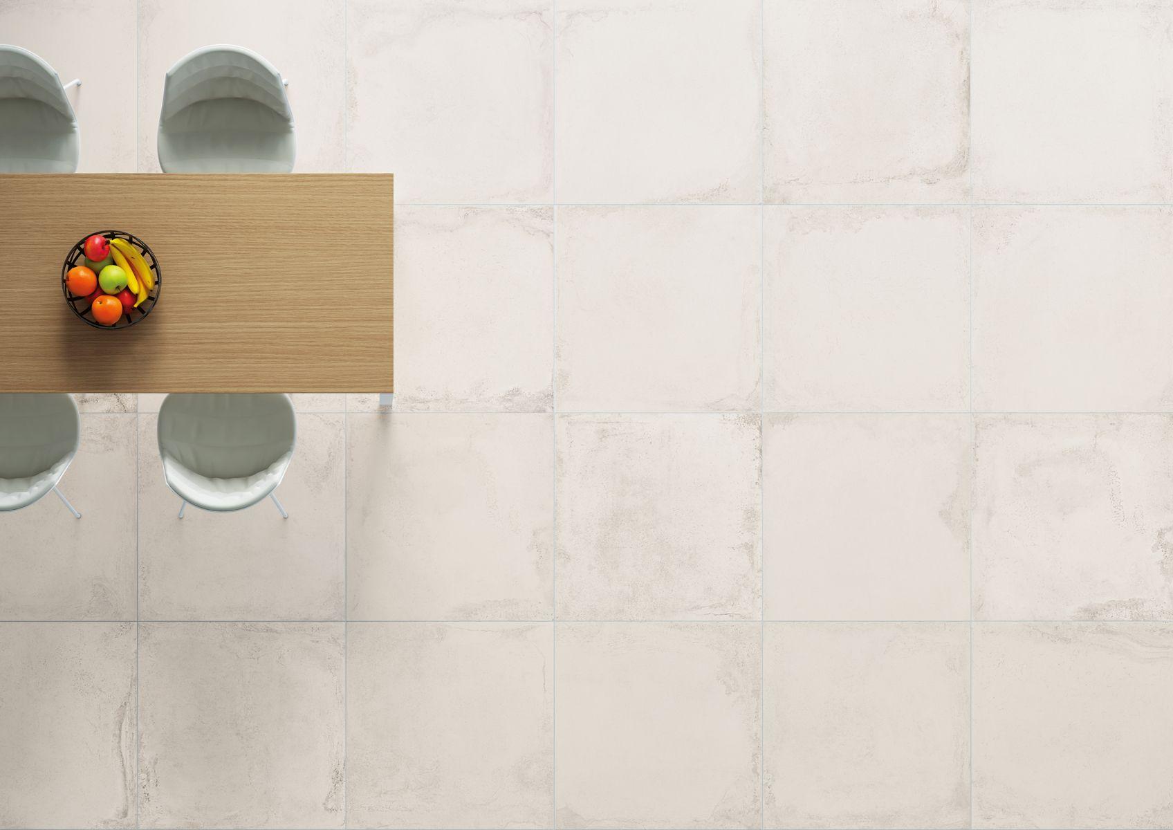 La Fabbrica Ceramiche - VELVET Collection - www.lafabbrica.it -  #texture #table #chairs #white