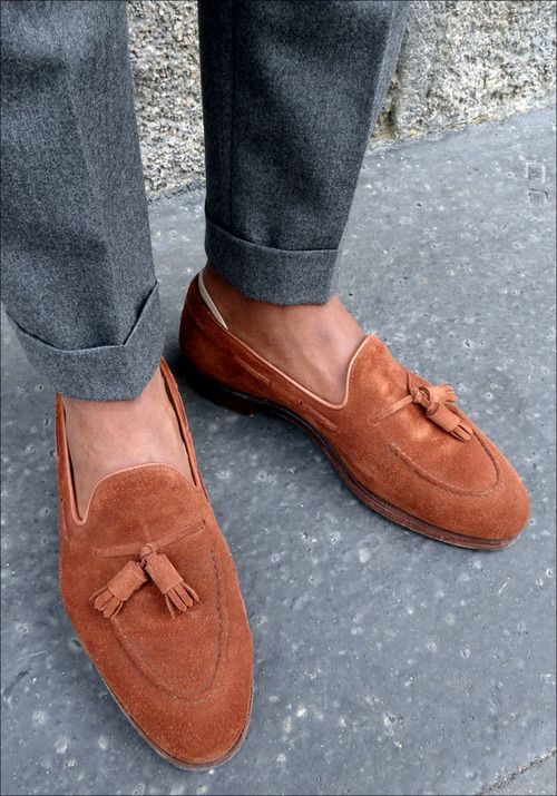 5c1ee14f6a2 LESS EFFORT Suede Loafers