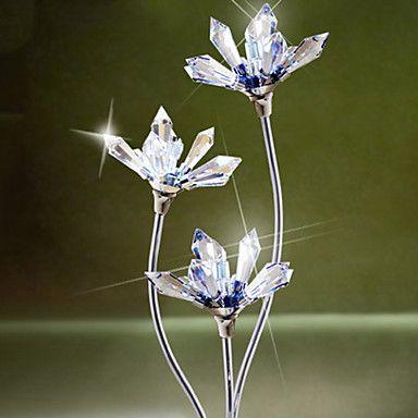 Abajur Triplo Poder Cristal Flor de 762553 2016 por $78.99