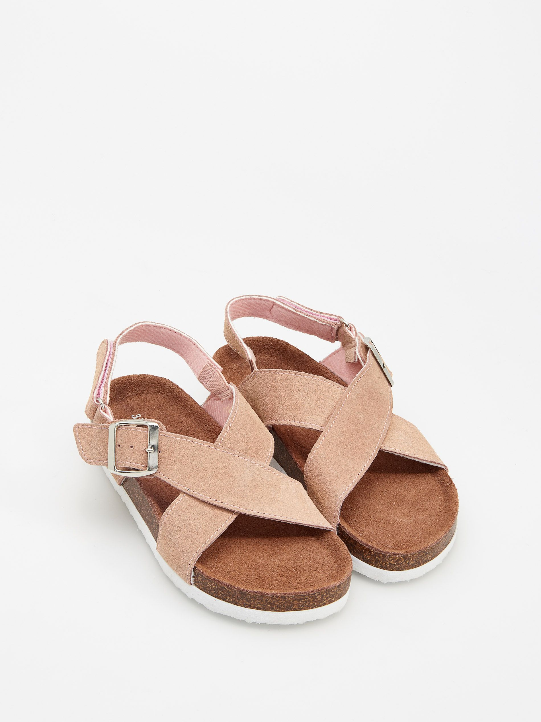 Skorzane Sandaly Reserved Vh040 03x Leather Sandals Baby Shoes Leather