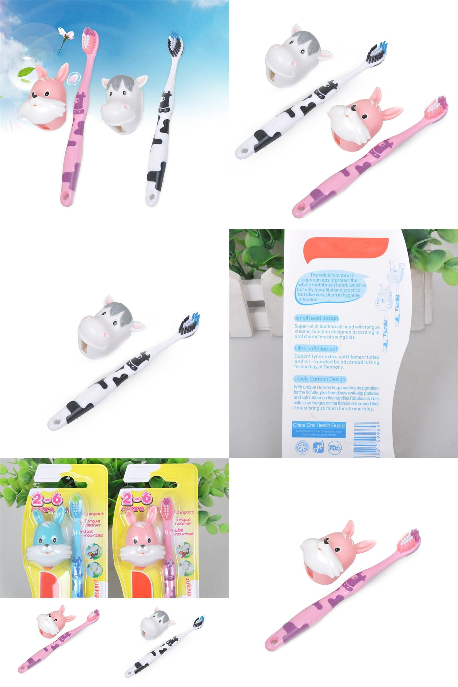 Childrens toothbrush can be not only a toy