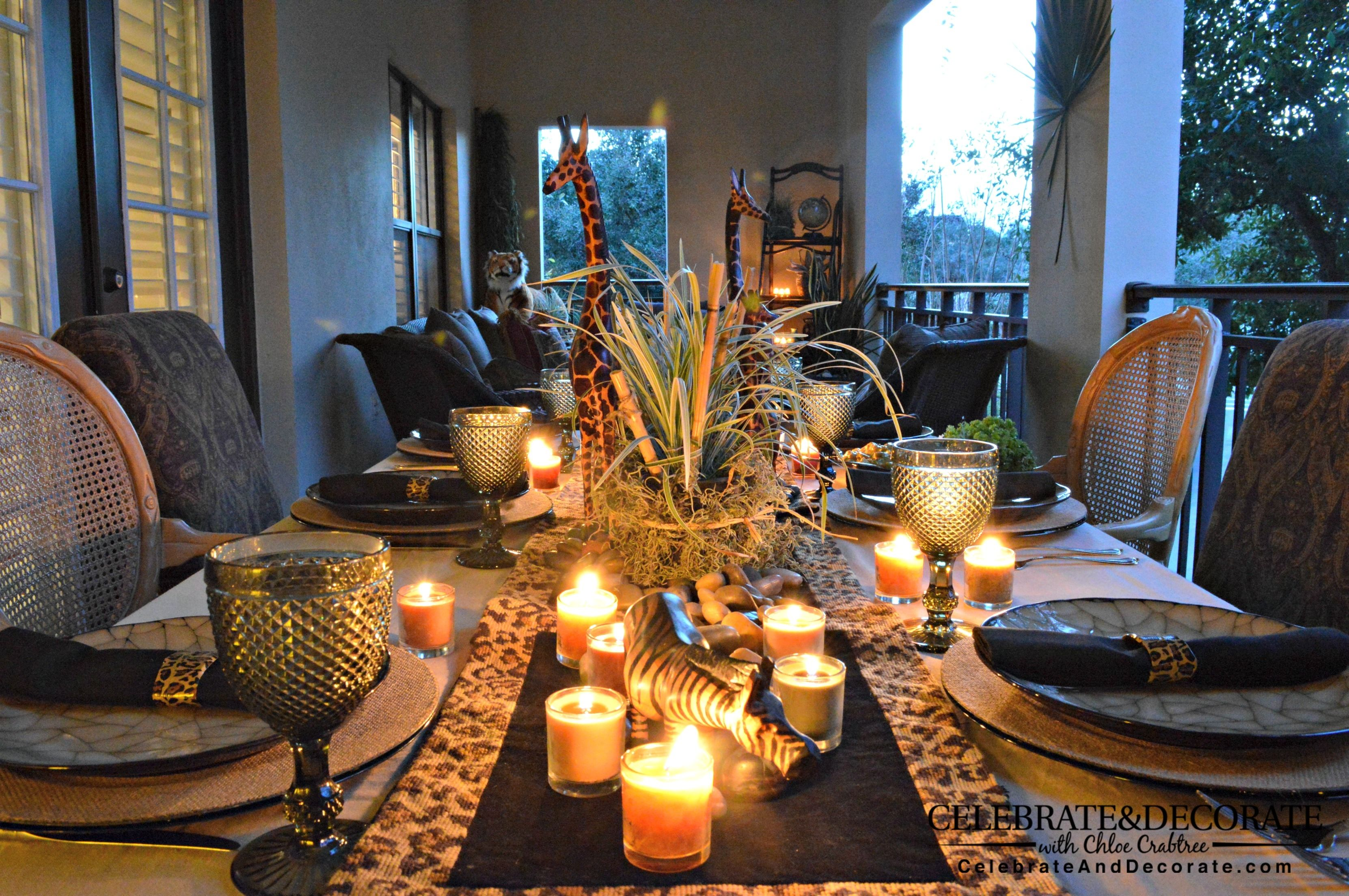 5 Photos Of The African Themed Party Decorations Safari