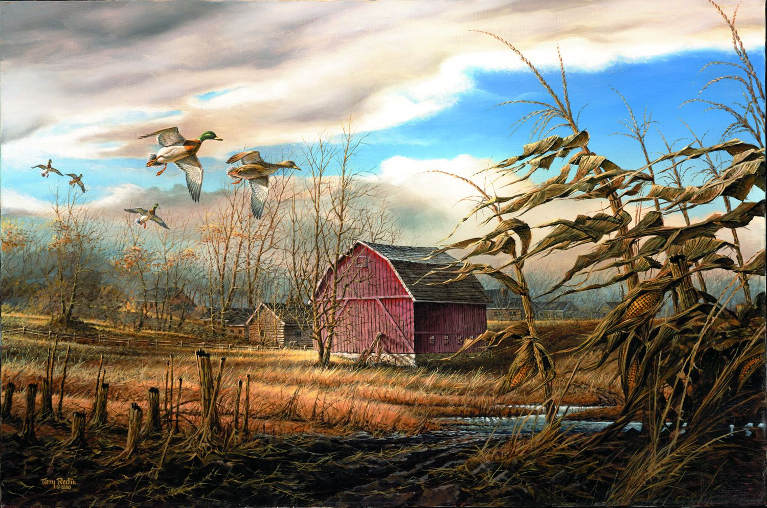 Terry Redlin That Special Time HD Print Art Home Decor Oil Painting on Canvas