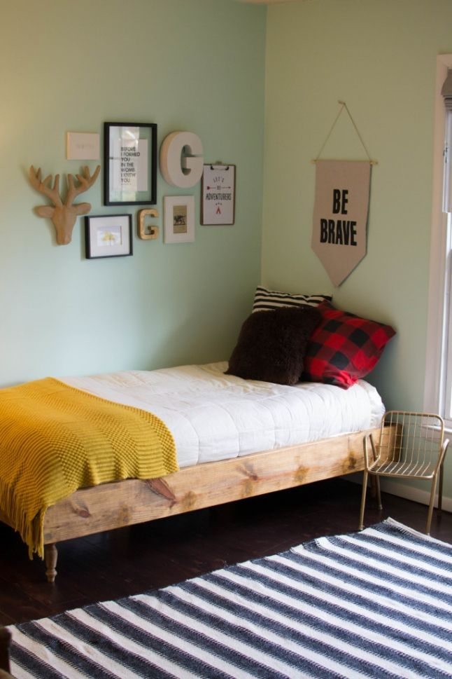 House Update: VOILA! Toddler shared room is complete! Toddler boy\'s ...