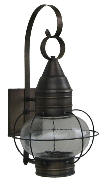 Solid brass onion lamp with seeded glass made at sandwich lantern solid brass onion lamp with seeded glass made at sandwich lantern of cape cod aloadofball Gallery