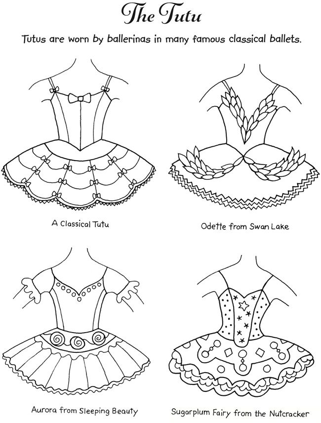 Welcome To Dover Publications Bailarina Para Colorir Ballet