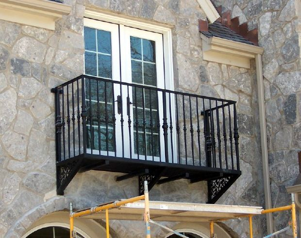 Iron Railing Balcony At Door Google Search Tiburon