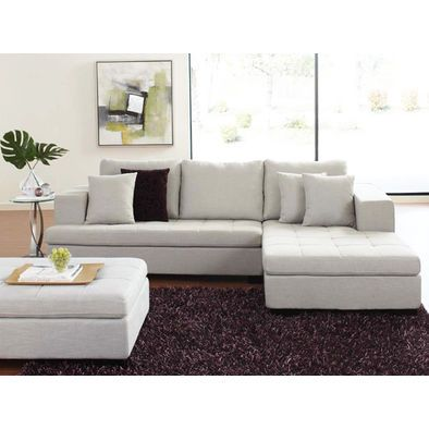 Pleasant Cute Sectional Sectional With Ottoman Contemporary Cjindustries Chair Design For Home Cjindustriesco