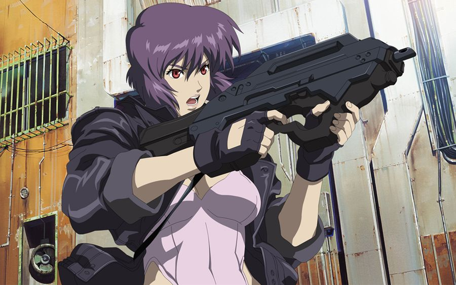 motoko wallpaper ghost in the shell most popular anime characters anime