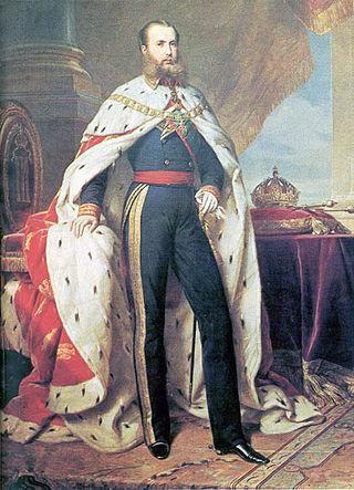 Maximiliano de Habsburgo, Emperador de México, por Franz Xaver Winterhalter.