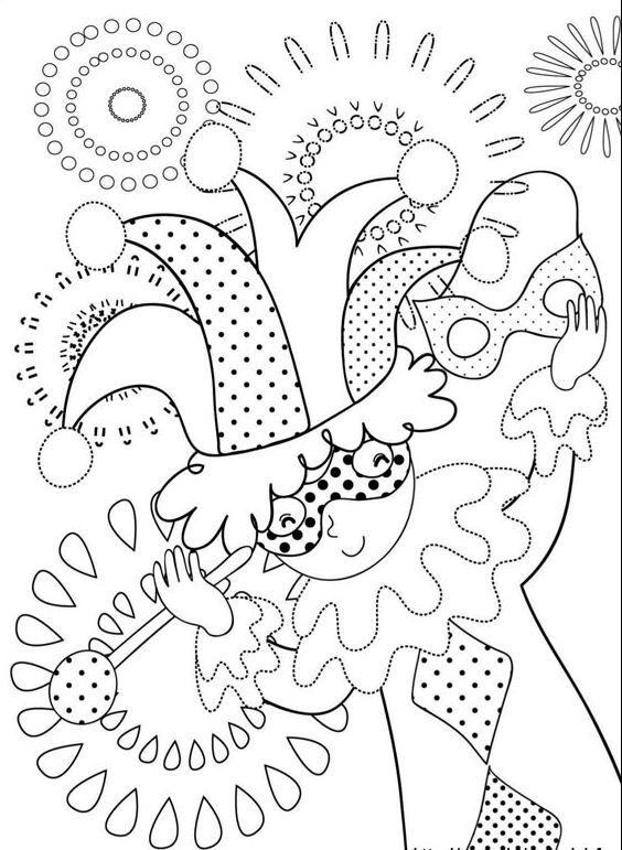 Kleurplaten En Zo Carnaval.Kleurplaten En Zo Kleurplaat Van Carnaval Carnaval Pinterest